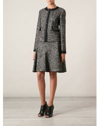 Etro Black Skirt Suit - Lyst