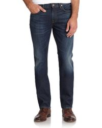 7 For All Mankind Vintage 7 Collection Straight-Leg Jeans - Lyst