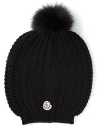 Moncler Ribbed Hat - Lyst