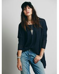 Free People We The Free Shadow Hacci - Lyst