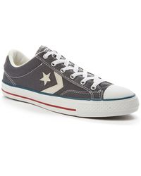 Converse Cons Star Player Plimsolls gray - Lyst