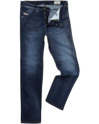 Diesel Darron 834t Dark Wash Regular Slim Fit Jeans - Lyst