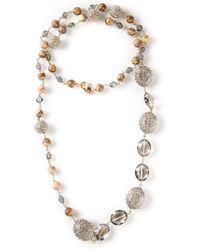 Roni Blanshay - Lariat Necklace - Lyst