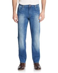 Robert Graham - Slim-straight Stretch Jeans - Lyst