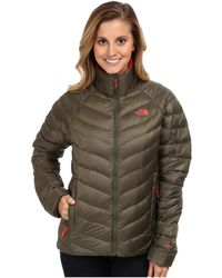 The North Face Brown Thunder Jacket - Lyst