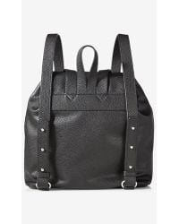 Express - Black Backpack With Tassels - Lyst