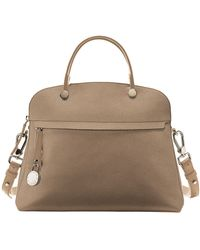 Furla Piper Leather Dome Top Handle Bag - Lyst