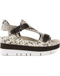 Ash Black 'Vanna' Sandals - Lyst