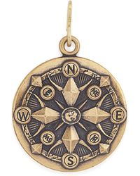 ALEX AND ANI - Compass Charm - Lyst