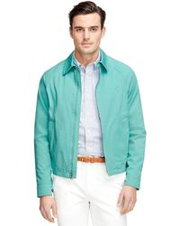 Brooks Brothers Clifton Bomber Jacket - Lyst