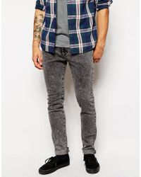 Native Youth Acid Wash Skinny Jean - Lyst