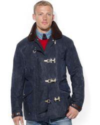 Polo Ralph Lauren Oilcloth Firemans Jacket - Lyst