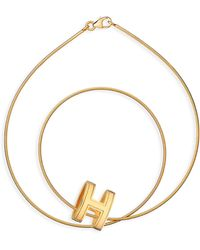 Hermes Gold Pop H - Lyst