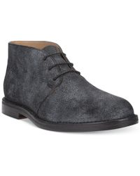 Cole Haan Glenn Suede Chukka Boots - Lyst