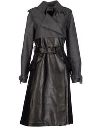 Yves Saint Laurent Rive Gauche Fulllength Jacket - Lyst
