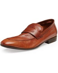 Berluti Lorenzo Unlined Leather Loafer - Lyst