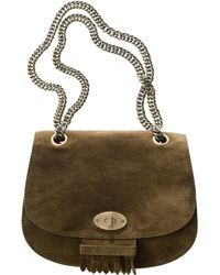 Madewell The Brownstone Suede Bag - Lyst