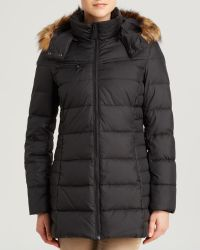 Marc New York Coat  Paris Quilted with Faux Fur Trim Hood - Lyst