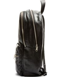 Marc By Marc Jacobs - Black Leather Super Trooper Backpack - Lyst
