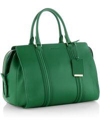 Hugo Boss Berlin | Grained Leather Top Handle Bag - Lyst