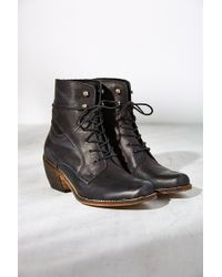 Sixtyseven - Felicity Lace-Up Ankle Boot - Lyst