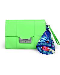 Love Moschino Medium Fabric Bag - Lyst