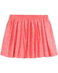 H&M Skirt With Pleats - Lyst