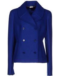 Alexander McQueen Blazer blue - Lyst