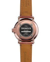 Shinola The Runwell Brown Dial Leather Strap Watch 41mm - Lyst