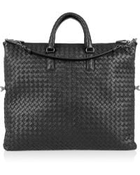 Bottega Veneta Convertible Intrecciato Leather Tote - Lyst