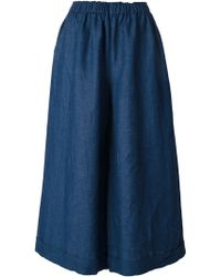 Daniela Gregis - Pleated Midi Skirt - Lyst