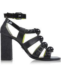 Markus Lupfer Sandals black - Lyst