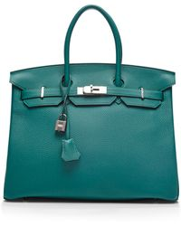 Heritage Auctions Special Collection Hermes 35cm Malachite Togo Birkin - Lyst