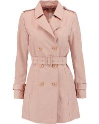 Add - Shell Trench Coat - Lyst