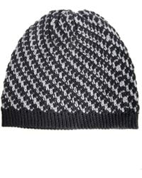 RVCA - Moondance Striped Beanie Hat - Lyst