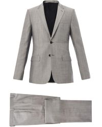 Balenciaga Wool and Mohairblend Suit - Lyst