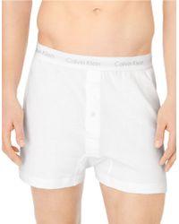 Calvin Klein Classic Knit Boxer Set - Lyst
