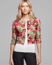 Tracy Reese - Cardigan Printed - Lyst