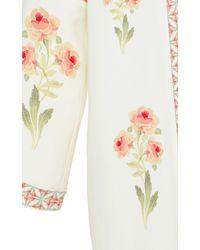 Vilshenko   Sophie Floral Printed Crepe Jacket   Lyst