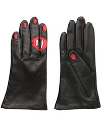 Aristide | Kiss Nappa Leather Gloves | Lyst