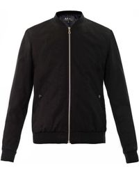 A.P.C. Cotton Bomber Jacket - Lyst