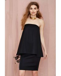 Nasty Gal The Acent Layered Dress - Lyst