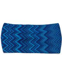 Missoni | Metallic Knit Headband | Lyst