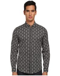 Just Cavalli African Rhapsody Print Cotton Stretch Shirt Button Up - Lyst