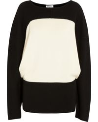 Vionnet Twotone Wool Sweater - Lyst