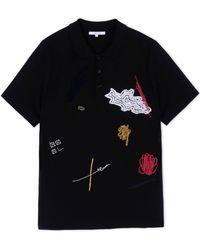 Carven Polo Shirt black - Lyst
