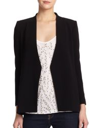Alice + Olivia Caddy Open-Back Blazer black - Lyst