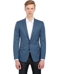 Dolce & Gabbana Stretch Wool Martini Fit Tailored Jacket - Lyst