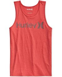 Hurley One & Only Tank - Lyst