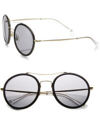 Gucci | 53mm Round Sunglasses | Lyst